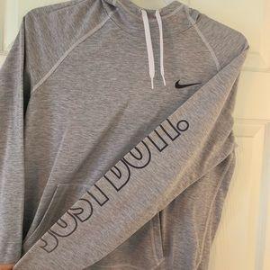 Light purple/grey Nike hoodie